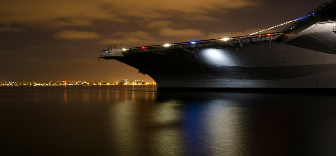 The Business Lessons I Learned From Landing On An Aircraft Carrier At Night