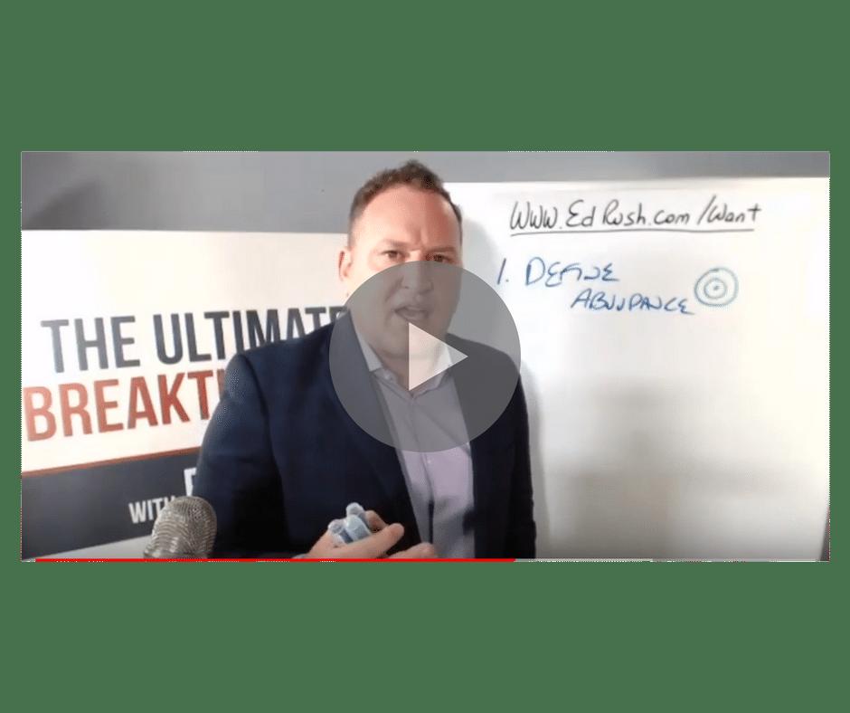 Ed Play Video 2 - Ed Rush | Business Growth Acceleration Mentor, Speaker, Author - 5x #1 Bestselling Author, Speaker, Mentor, Advisor
