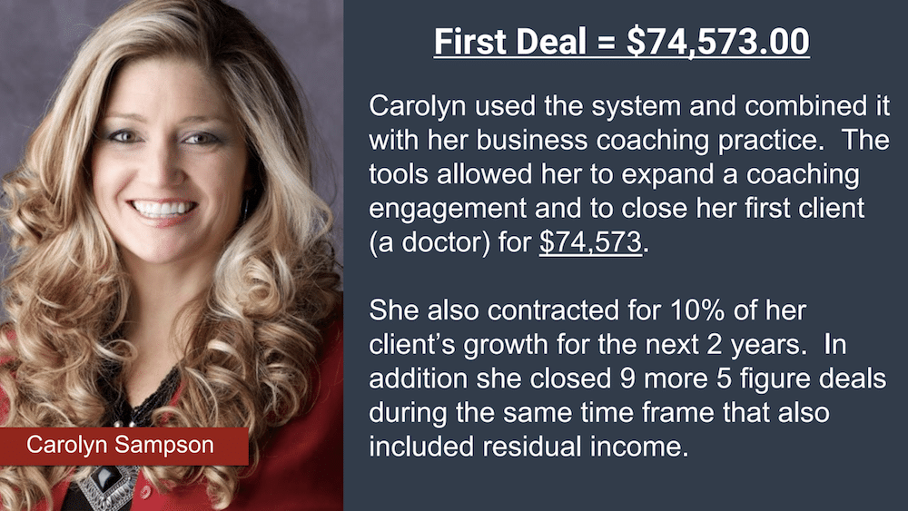 Carolyn Sampson Testimonial