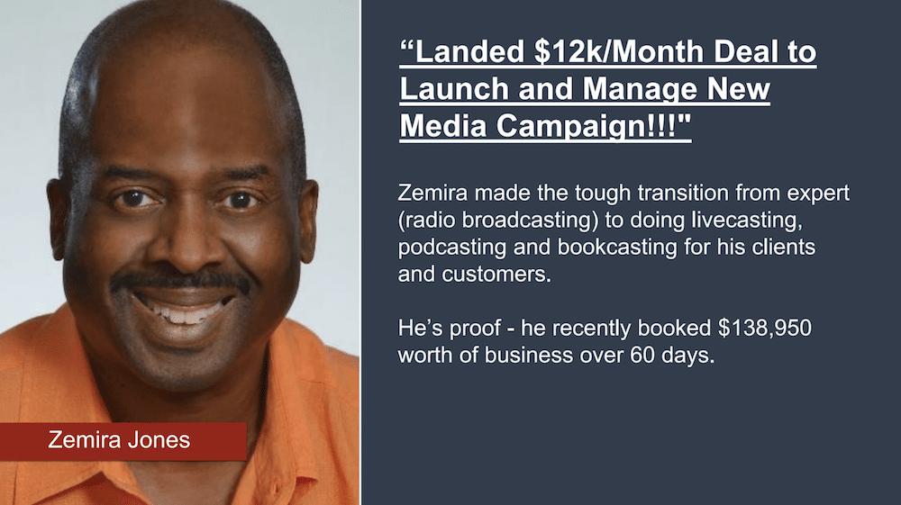Zemira Jones Testimonial